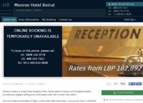 monroe-hotel-beirut.h-rez.com
