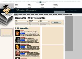 monsieur-biographie.com