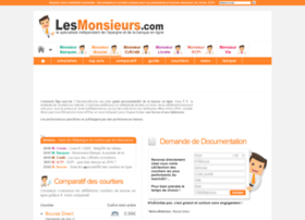 monsieurbourse.lesmonsieurs.com