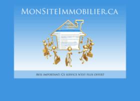 monsiteimmobilier.ca