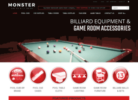 monsterbreakbilliards.com