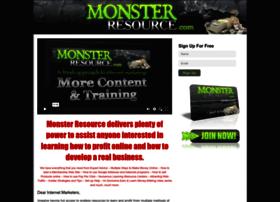 monsterresource.com