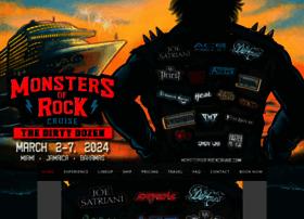 monstersofrockcruise.com