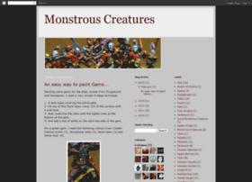 monstrouscreatures.com