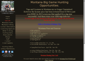 montanaelkhuntingoutfitters.com