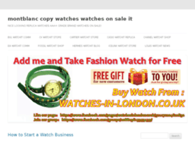 montblanc-copy-watches.watchesonsale.it