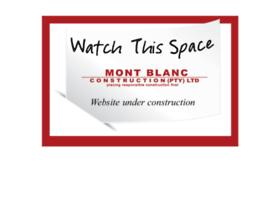 montblancconstruction.co.za