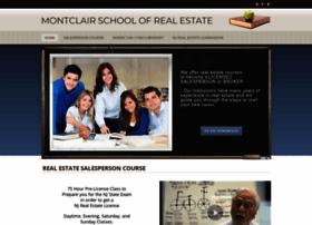 montclairschoolofrealestate.com