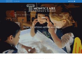montclareschool.org