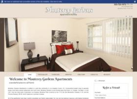montereygardensapartment.com