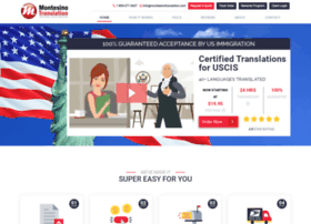 montesinotranslation.com