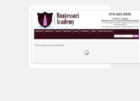 montessoriacademychapelhill.com