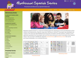 montessorispanishseries.com