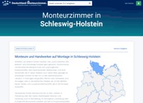 monteurzimmer-schleswig-holstein.de