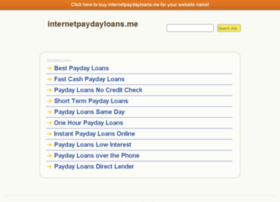 monthly.payment.loans.internetpaydayloans.me