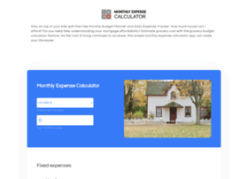 monthlyexpensecalculator.com