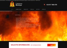 montoyaextintores.com