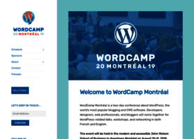 montreal.wordcamp.org
