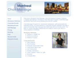 montrealchairmassage.ca