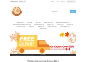 montrealcricketstore.com