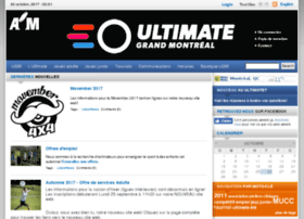 montrealultimate.ca