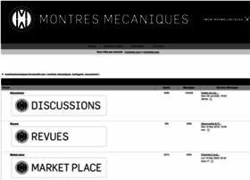montresmecaniques.forumactif.com