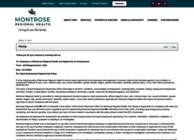 montrosehospital.iapplicants.com