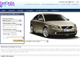monza-car-hire.com