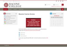 moodle.bacone.edu