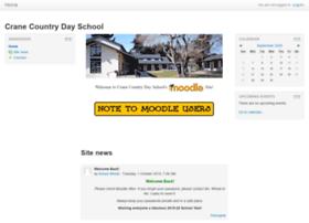 moodle.craneschool.org