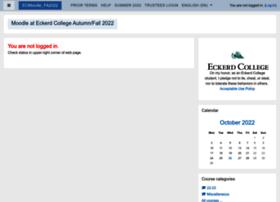 moodle.eckerd.edu