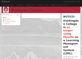 moodle.huntingdon.edu