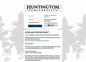 moodle.huntington.edu