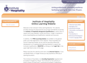 moodle.instituteofhospitality.org