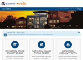 moodle.isothermal.edu