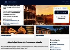 moodle.johncabot.edu