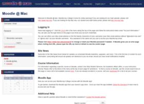 moodle.mac.edu