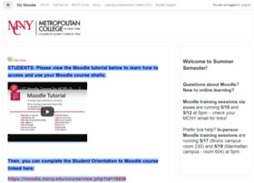 moodle.mcny.edu