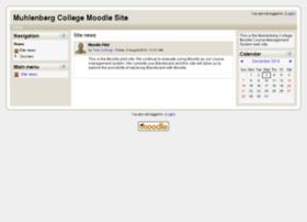 moodle.muhlenberg.edu