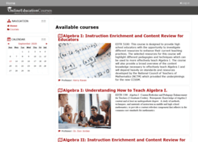 moodle.onlineeducationcourses.org