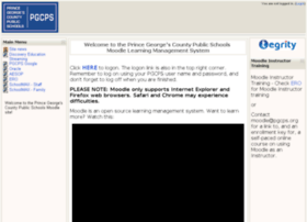moodle.pgcps.org