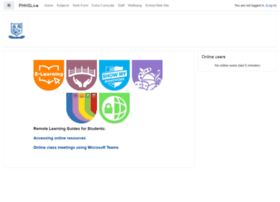 moodle.phhslive.co.uk