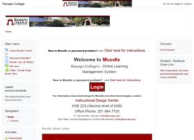 moodle.ramapo.edu