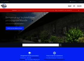 moodle.univ-montp3.fr
