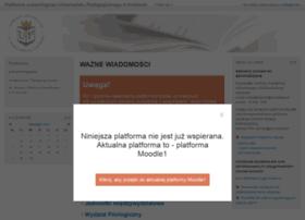 moodle.up.krakow.pl