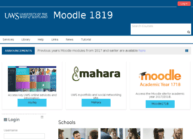 moodle.uws.ac.uk