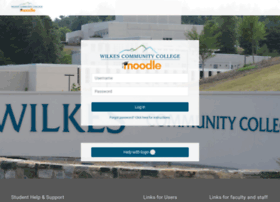 moodle.wilkescc.edu