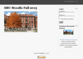 moodle13fa.sbu.edu