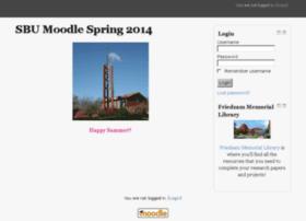 moodle14sp.sbu.edu