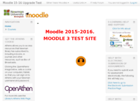 moodle2.newman.ac.uk